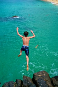 Cliff Diving Jigsaw Puzzle