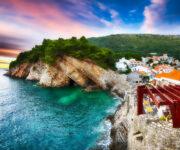 Cliffs of Petrovac Jigsaw Puzzle