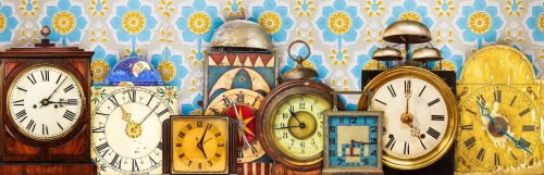 Clock Collection Jigsaw Puzzle