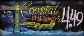 Coastal Chardonnay Jigsaw Puzzle