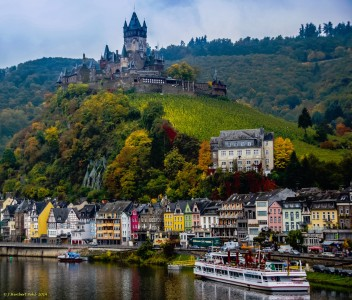 Cochem and Castle Jigsaw Puzzle