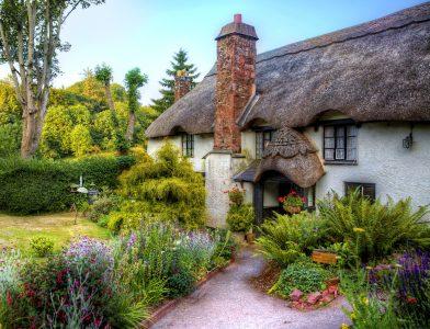 Cockington Cottage Jigsaw Puzzle