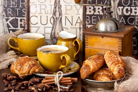 Coffee and Croissants Jigsaw Puzzle