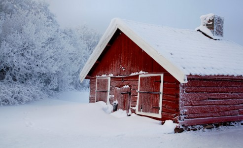 Cold Hut Jigsaw Puzzle