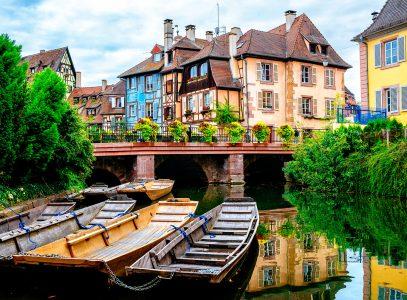 Colmar Boats Jigsaw Puzzle