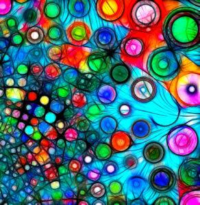 Color Bubbles Jigsaw Puzzle