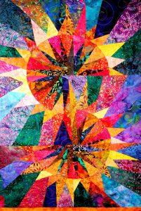 Color Burst Quilt Jigsaw Puzzle