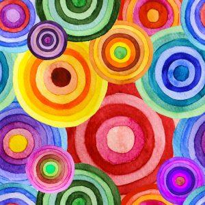 Color Circles Jigsaw Puzzle