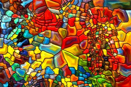 Color Mosaic Jigsaw Puzzle