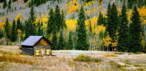 Colorado Cabin Jigsaw Puzzle