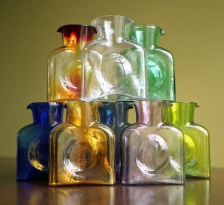 Colored Bottles Jigsaw Puzzle
