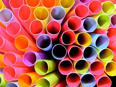 Colored Straws Jigsaw Puzzle
