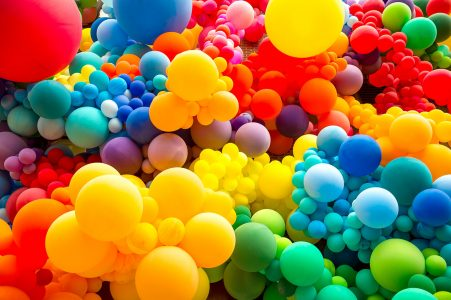 Colorful Balloons Jigsaw Puzzle