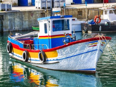Colorful Boat Jigsaw Puzzle