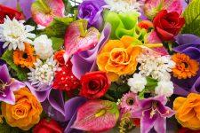Colorful Bouquet Jigsaw Puzzle