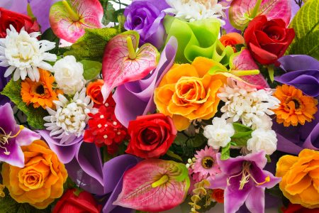 Colorful Bouquet Jigsaw Puzzle
