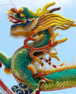 Colorful Dragon Jigsaw Puzzle