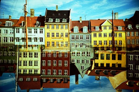 Colorful Facades Jigsaw Puzzle