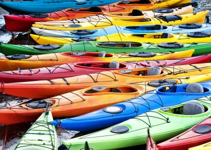 Colorful Kayaks Jigsaw Puzzle