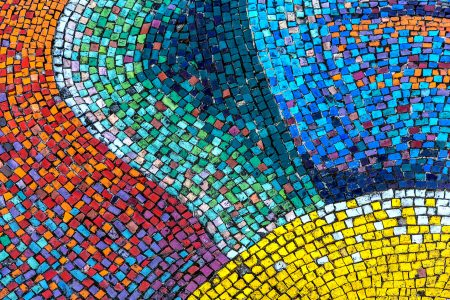 Colorful Mosaic Jigsaw Puzzle