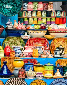 Colorful Pottery Jigsaw Puzzle