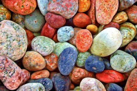Colorful Stones Jigsaw Puzzle