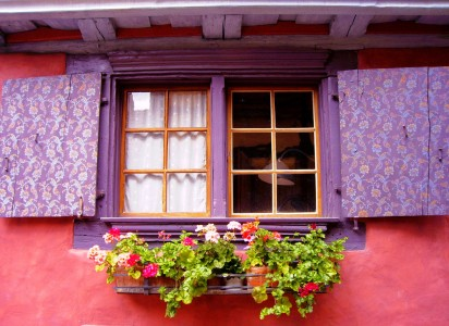 Colorful Window Jigsaw Puzzle