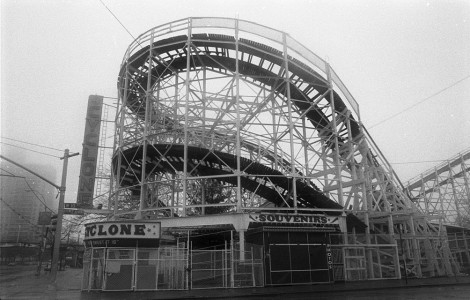 Coney Island's Cyclone Jigsaw Puzzle