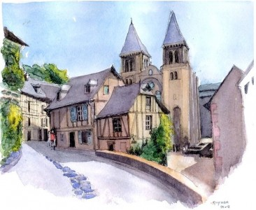 Conques Jigsaw Puzzle