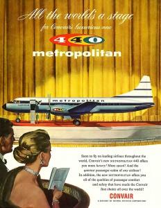 Convair Airplane Jigsaw Puzzle