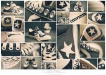 Converse Collage