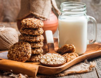 Cookies and Milk Jigsaw Puzzle
