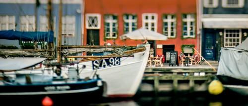 Copenhagen Cafe Jigsaw Puzzle