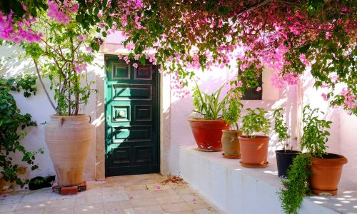 Corfu Patio Jigsaw Puzzle