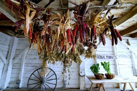 Corn Shed Jigsaw Puzzle