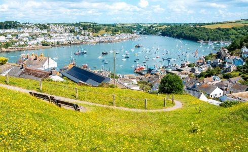 Cornish Harbor Jigsaw Puzzle