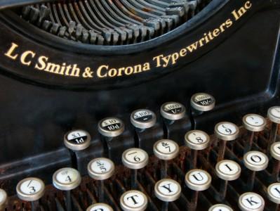 Corona Typewriter Jigsaw Puzzle