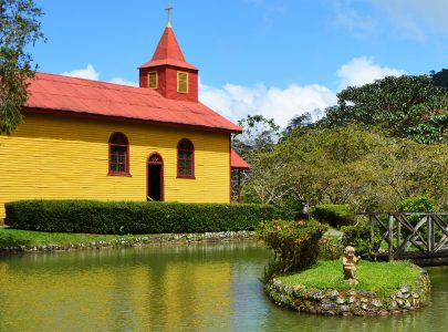 Costa Rican Church Jigsaw Puzzle