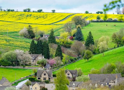 Cotswold Hills Jigsaw Puzzle
