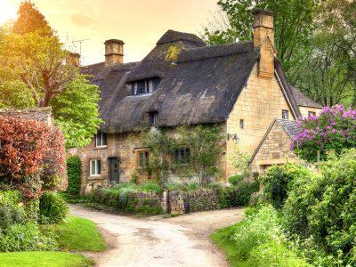 Cotswolds Cottage Jigsaw Puzzle