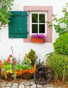 Cottage Window Jigsaw Puzzle