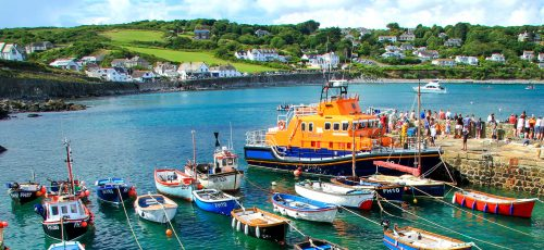 Coverack Harbor Jigsaw Puzzle