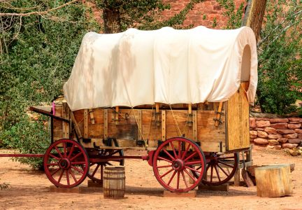 Covered Wagon Jigsaw Puzzle