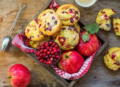 Cranberry Muffins Jigsaw Puzzle