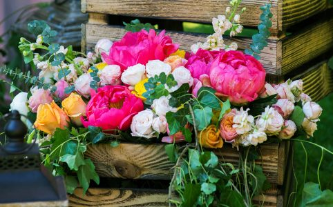 Crate of Roses Jigsaw Puzzle
