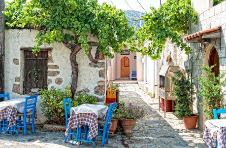 Crete Cafe Jigsaw Puzzle