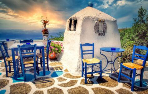 Crete Patio Jigsaw Puzzle
