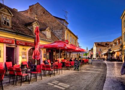 Croatian Cafe Jigsaw Puzzle