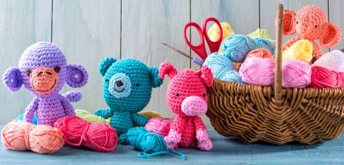 Crochet Buddies Jigsaw Puzzle