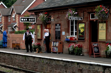 Crowcombe Station Jigsaw Puzzle